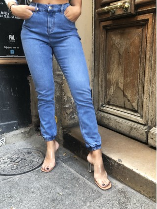 Jean cargo blue